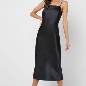 Topshop Square Neck Slip Dress NWOT
